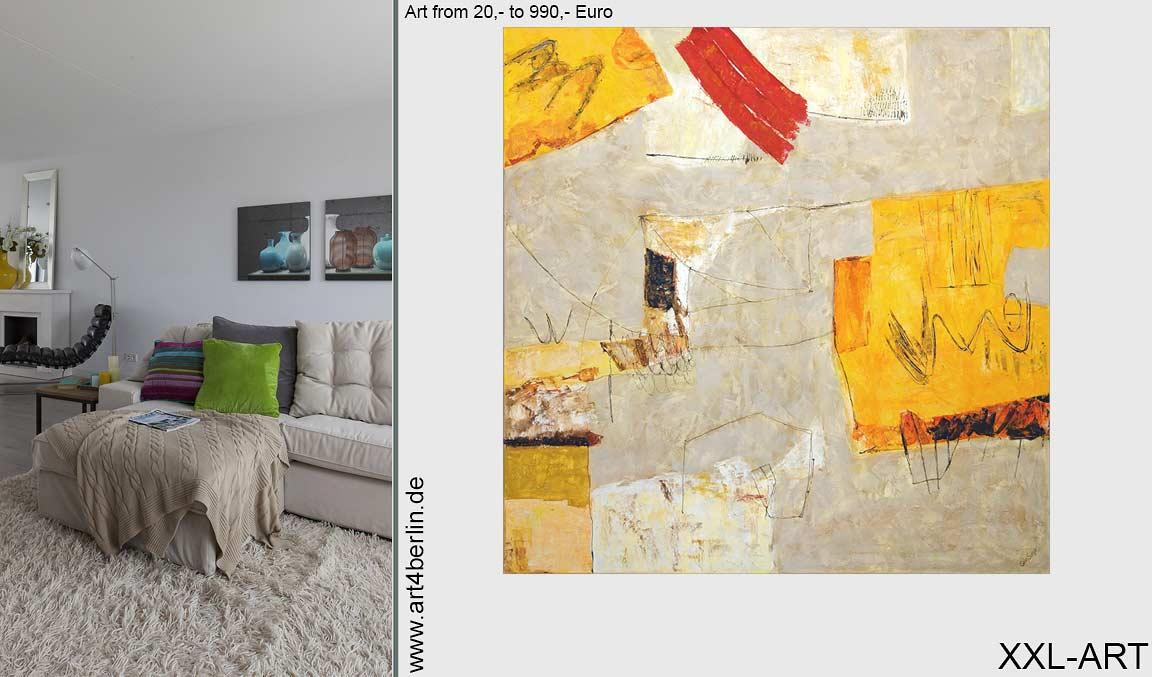 Moderne Gemälde, junge Kunst