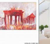 großformatige Acrylbilder, Kunstgemälde, Leinwandmalerei