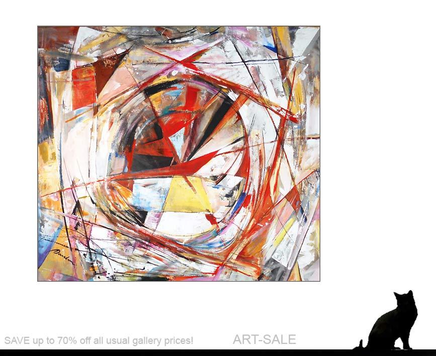 center of life k nstleracrylfarben leinwand 150 135 cm original 990 euro art4berlin. Black Bedroom Furniture Sets. Home Design Ideas