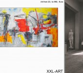 Moderne Kunst. Echt. Groß. Abstrakte Gemälde
