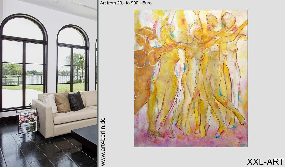 kunstgalerie grossformatige acrylbilder