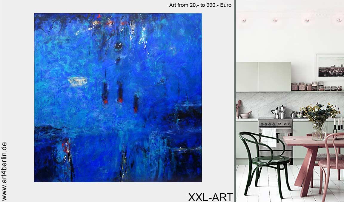 Galerie art4berlin – die größte Kollektion zeitgenössischer, riesiger Kunstgemälde am Hackeschen Markt.