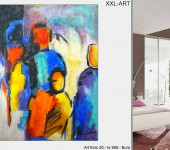 Große Ausstellung. XXL-Art-Sale
