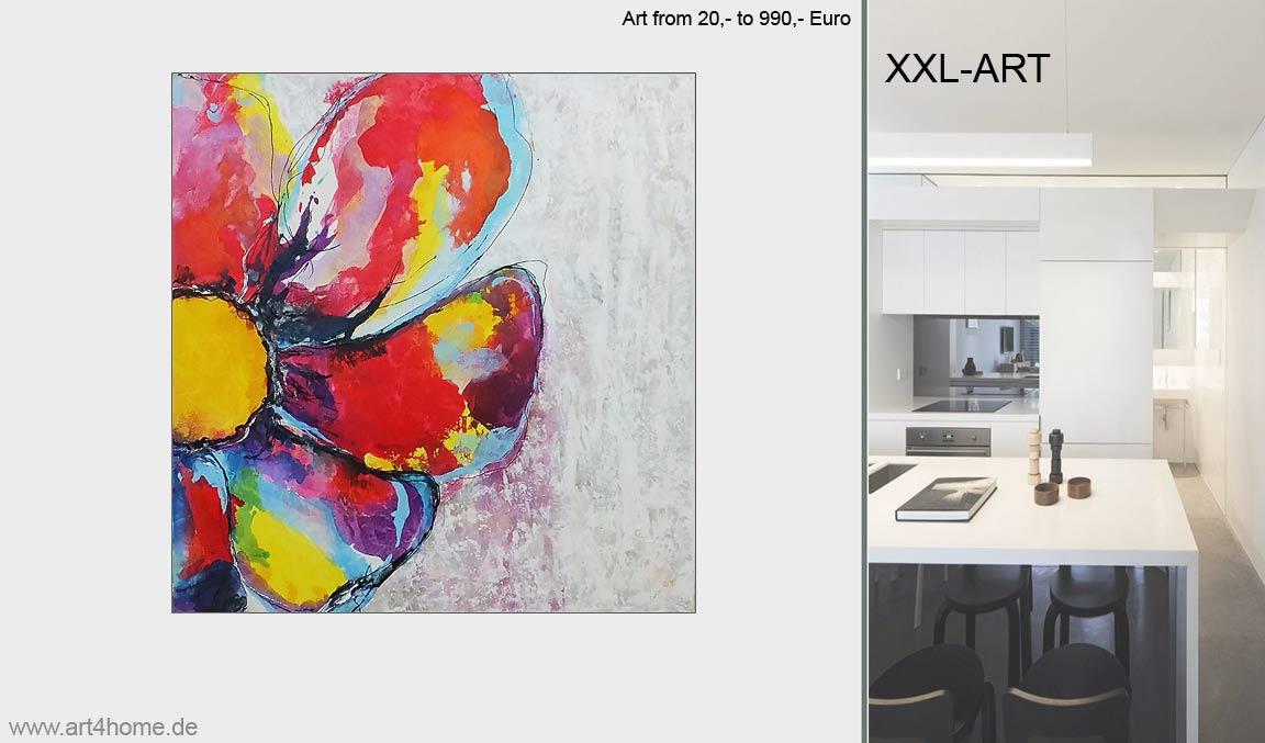 Große Kunstausstellung. Abstrakte Kunst online.
