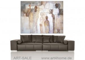 wohnen mit kunst echten gem lden und modernen bildern malerei im gro format moderne. Black Bedroom Furniture Sets. Home Design Ideas