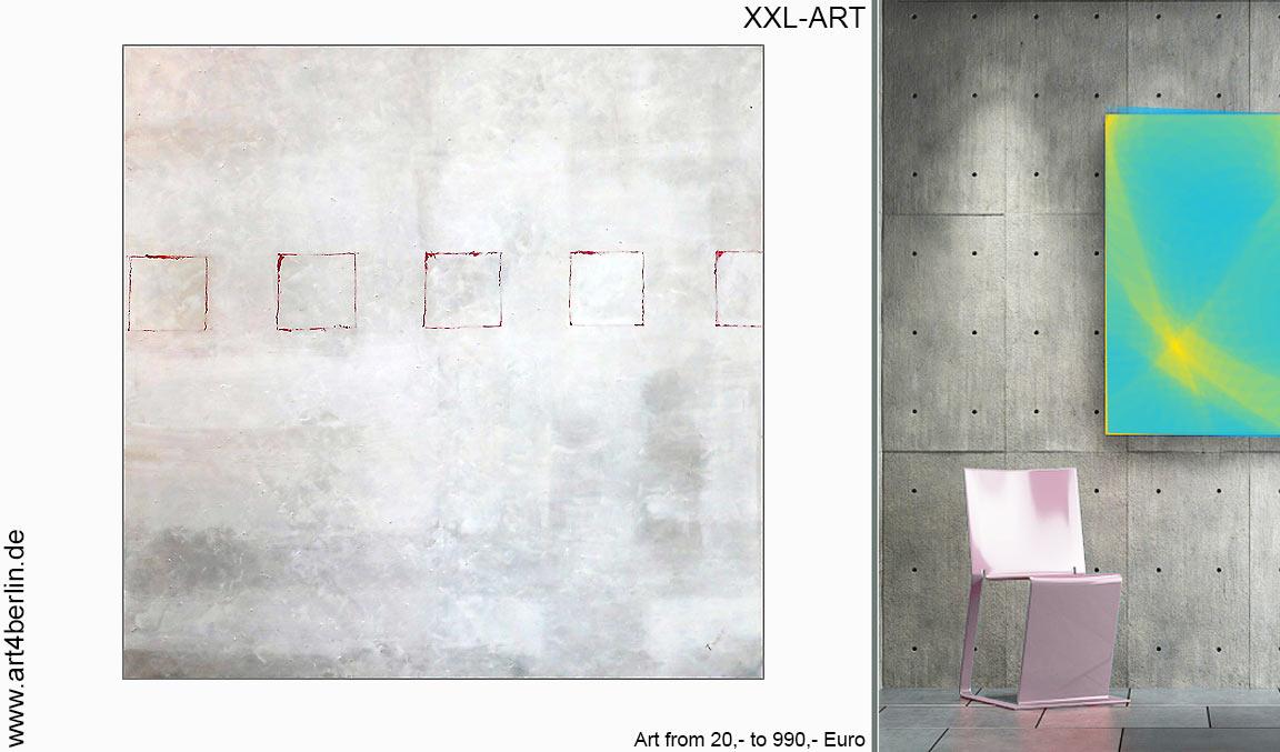 virtuelle Kunstgalerie, abstrakte Ölmalerei