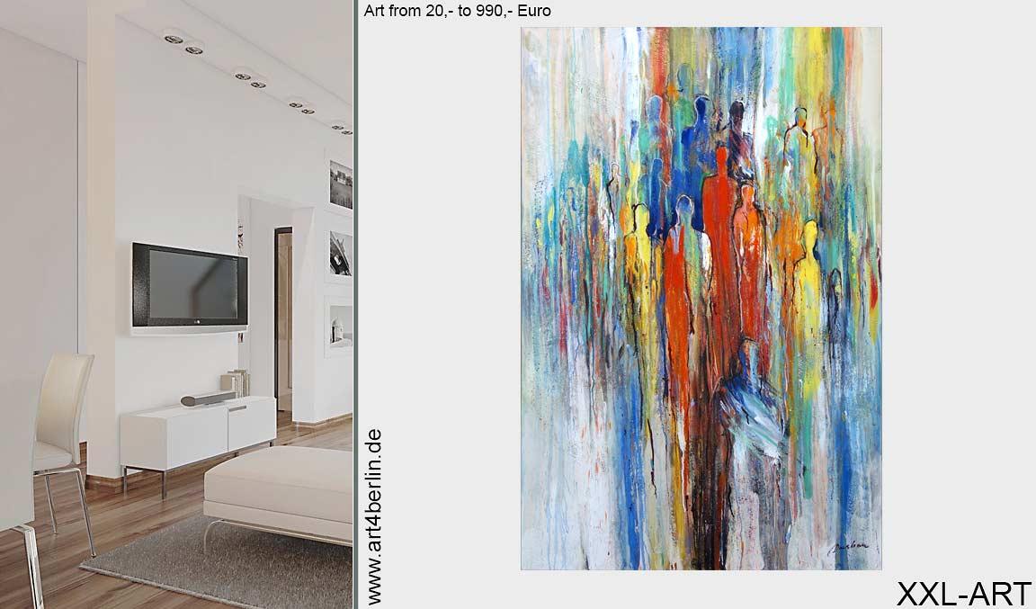 Grossformatige Malerei Art4berlin Kunstgalerie Onlineshop