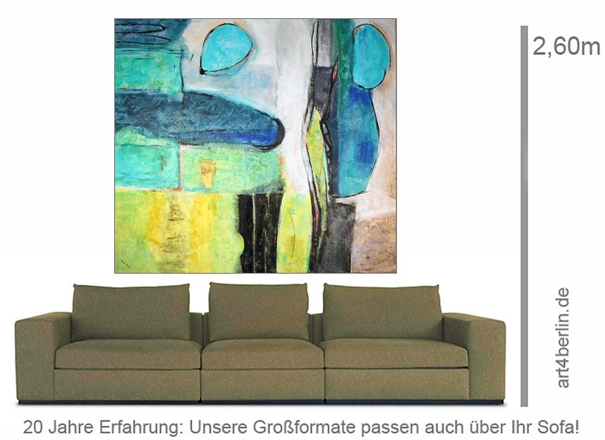 kraft der entstehung mischtechnik mit spachtelmasse auf leinwand 150 135 cm original 990. Black Bedroom Furniture Sets. Home Design Ideas