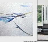 Abstrakte Acrylbilder, Modern ART, großformatige Ölgemälde