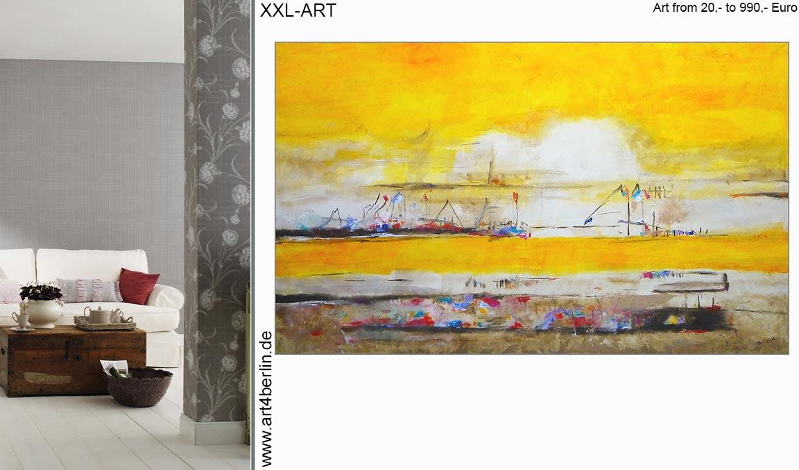 abstrakt wohnzimmer xxl bilder malerei guenstig