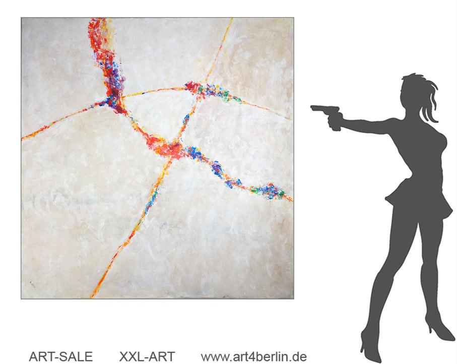 Berlin-Kunst, die das Leben noch schöner mitgestaltet! Auch Wände wollen schön sein! Kunst günstig kaufen!