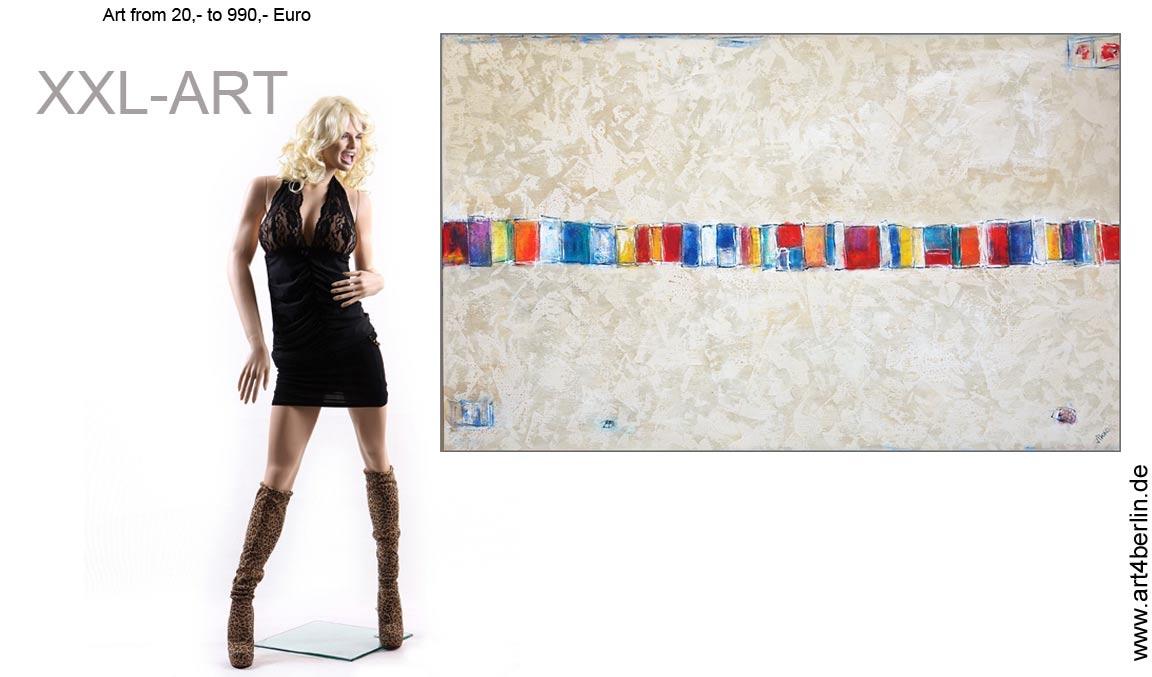 Maler, Künstler freuen sich auf Ihren Besuch! Zeitgenössische Kunst.