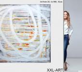 Junge Kunst, abstrakte Gemälde