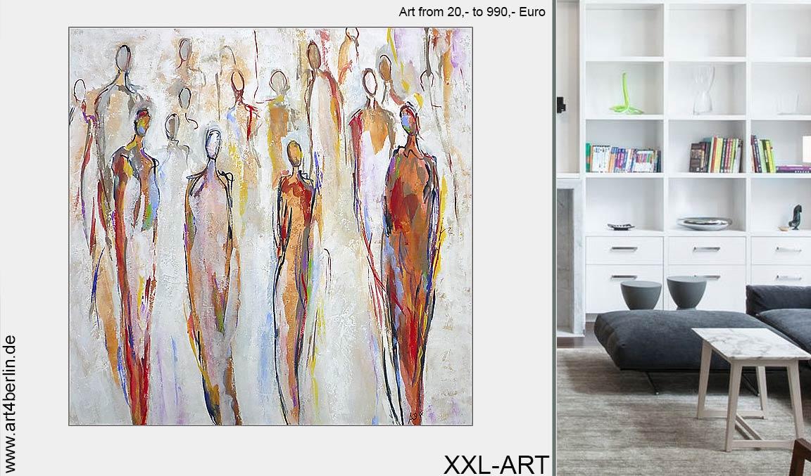 modern Acrylmalerei junge Kunst kaufen Webshop