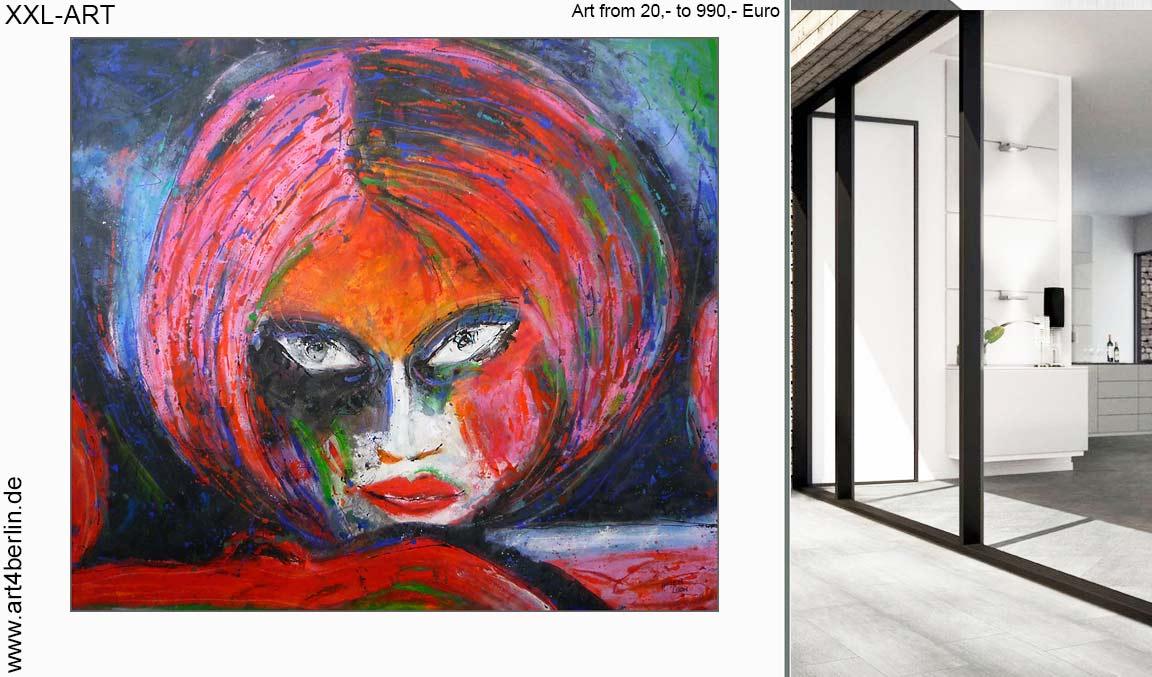 Die Kunstgalerie Berlin. Echte große Acrylbilder