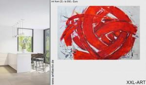 Abstrakte Malerei für jede Wohnung.