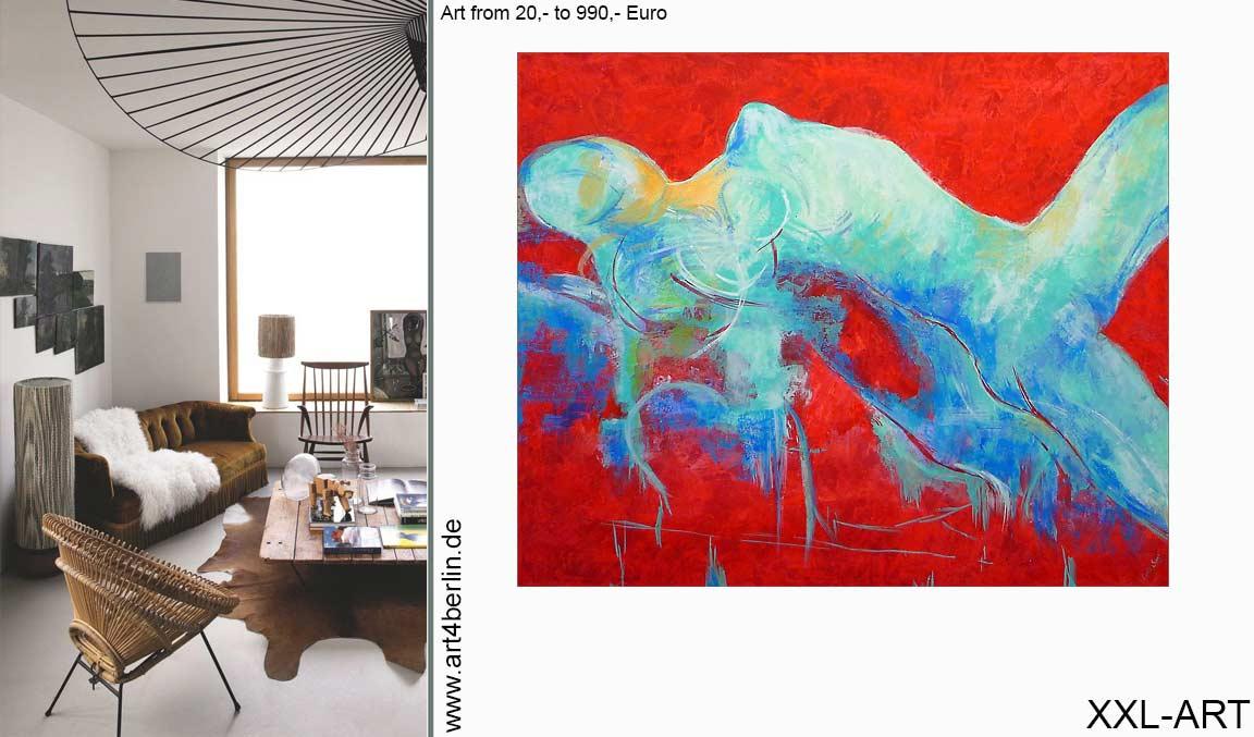 kunst in berlin modern wohnen