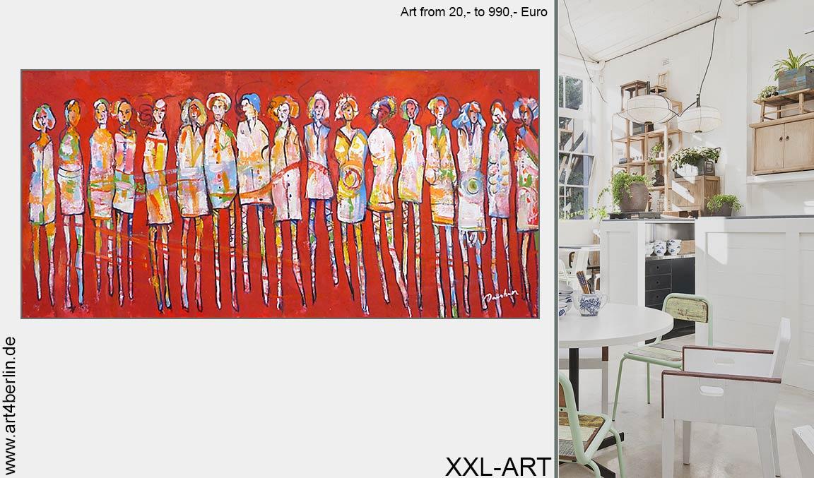 Webshop Acrylbilder junge Künstler modern günstig kaufen