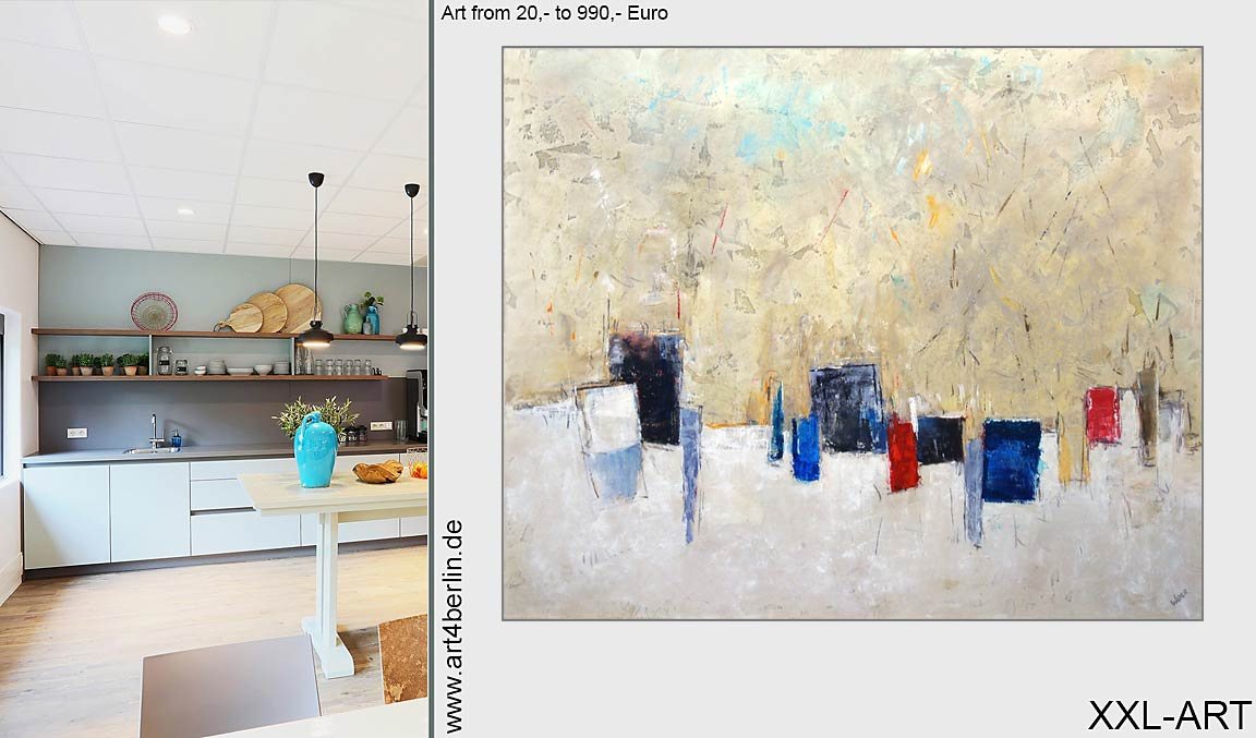 Kunst günstig. Galerie Berlin. Junge Künstler.