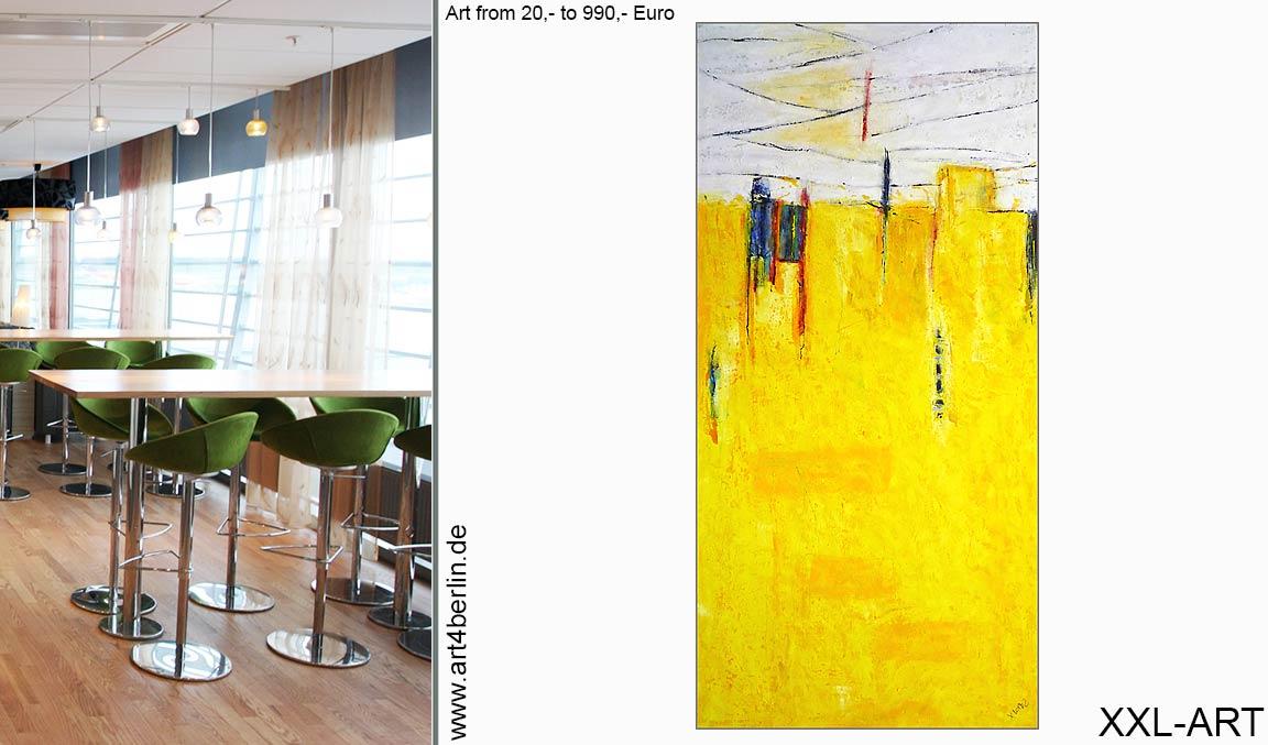 Galerie Leinwandbilder kaufen Berlin online abstrakt