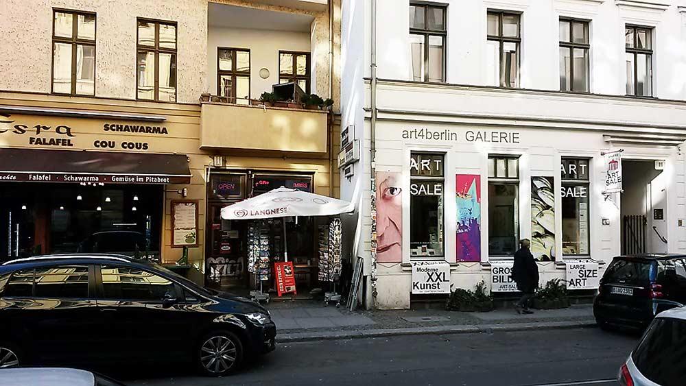kunstgalerie, berlin-mitte, oranienburger str 86