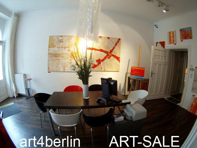 ART-SALE - timeless contemporary- and we ship worldwide --  Grossformatige Gemälde, abstrakte Malerei, Berlin Kunst
