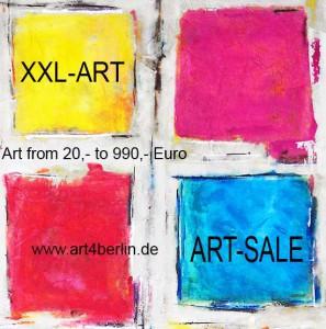 Ölgemälde und Acrylmalerei. XXL großformatige Bilder. Wohnen mit großer Kunst.