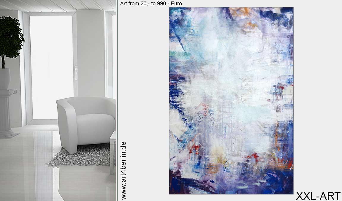 Berlin-Kunst von €20,- €990,-. Moderne Malerei. Hochwertige Acrylbilder.