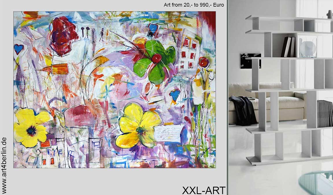 Mitten im Herzen Berlins. Die Kunstgalerie mit Riesenauswahl an moderner junger Kunst.