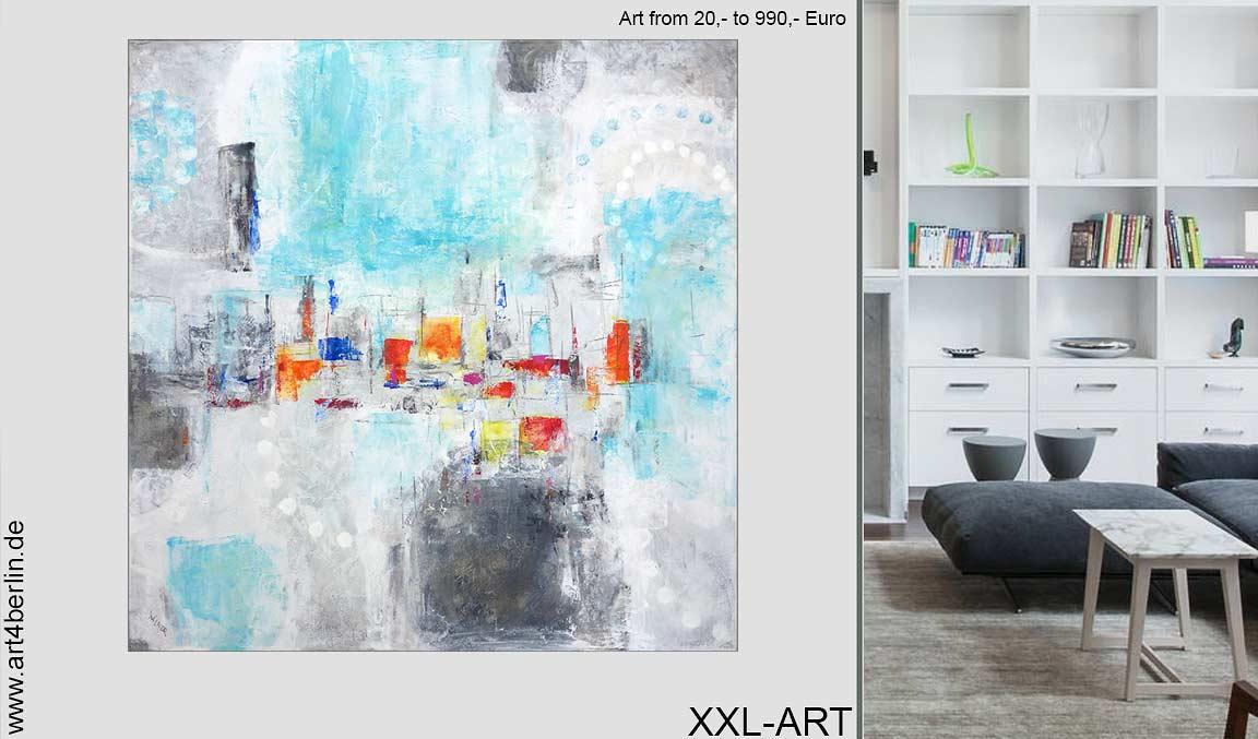 Großformatige Kunst günstig kaufen.