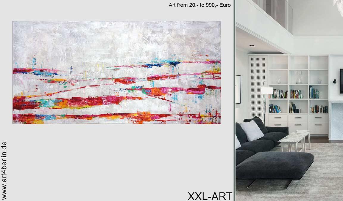 ART for SALE. Moderne Berlin-Kunst, repräsentative Acrylbilder & abstrakte, moderne Ölgemälde. 2 Galerien in Berlin.
