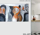 Appartements einrichten mit echter Malerei.