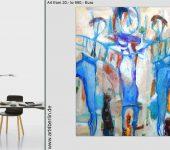 Räume mit XXL Malerei dekorieren.