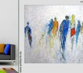 Gemälde für Firmen, Praxen, Wohnräume.
