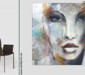 Junge Künstler kreieren XXL Gemälde.