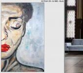 Ausgewählte Malerei, echte handgemalte Bilder.