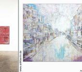 Handgemalte Leinwandbilder. Zwei Berliner Galerien.