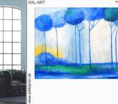Büros mit Leinwandbildern neu dekorieren. Magische Kunstgemälde zum Wohnen