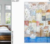 Vielfältige Malerei online günstig bestellen. Abstrakte Malerei für jede Wohnung.