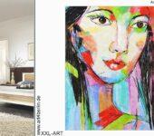 Büros mit moderner Kunst einrichten. Die Wohnung mit Acrylbildern dekorieren.