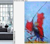 Das Zuhause dekorieren mit Kunst.