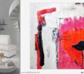 XXL Bilder mit sinnlichen Farbenergien finden Sie online.