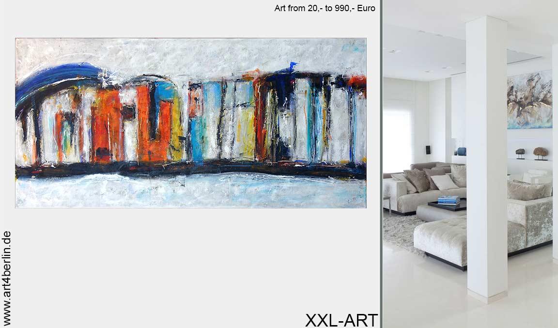 Sinnlich magischer, junger Malerei im Großformat online erleben.