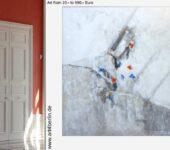 Mit moderner XXL Kunst runden Sie Ihr stilvolles Wohnen ab.