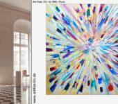 Begabte, junge Berliner Künstler zeigen Ihnen online ihre XXL Bilder.