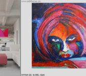 Acrylbilder mit besonders hoher Leuchtkraft finden Sie online.