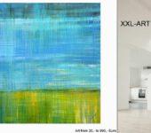 XXL Acrylbilder können Sie ganz einfach über die Couch hängen.