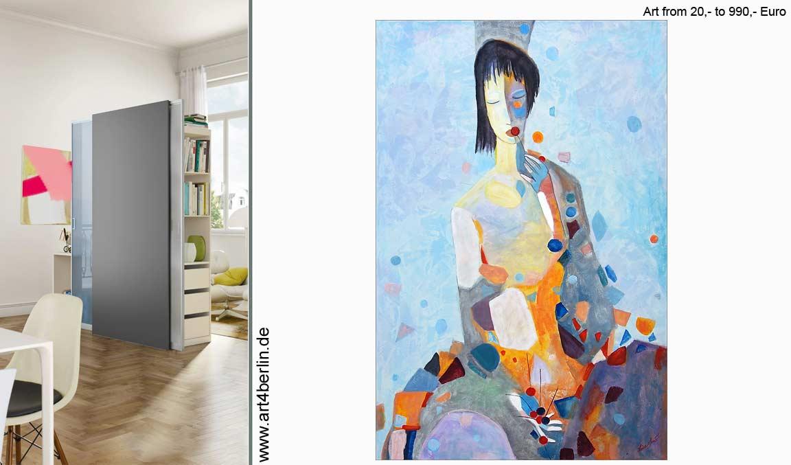 Moderne Acrylbilder, bunte XXL Wandbilder.