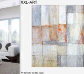 Großformatige Acrylbilder und abstrakte Ölgemälde.
