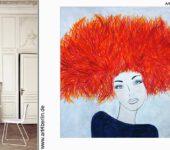 Große Wandbilder, echt handgemalte Berlin Kunst und hochwertige Acrylmalerei.